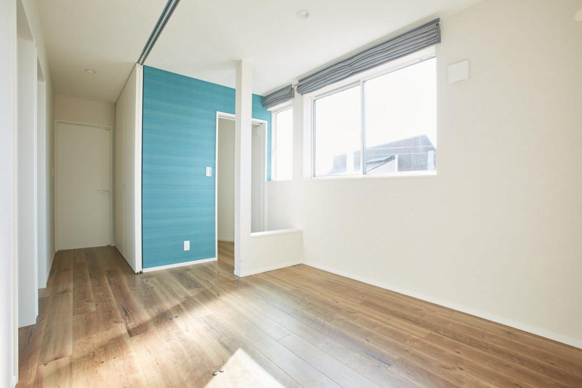 2階のホールは可動間仕切りで来客用のスペースになります